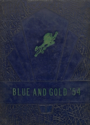 Foley High School - Blue and Gold Yearbook (Foley, AL) online yearbook collection, 1954 Edition, Cover