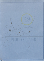 Foley High School - Blue and Gold Yearbook (Foley, AL) online yearbook collection, 1959 Edition, Cover
