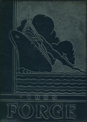 Follansbee High School - Forge Yearbook (Follansbee, WV) online yearbook collection, 1955 Edition, Cover