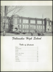 Page 6, 1957 Edition, Follansbee High School - Forge Yearbook (Follansbee, WV) online yearbook collection