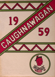 Fonda Fultonville High School - Caughnawagan Yearbook (Fonda, NY) online yearbook collection, 1959 Edition, Cover