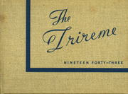 Ford City High School - Trireme Yearbook (Ford City, PA) online yearbook collection, 1943 Edition, Cover
