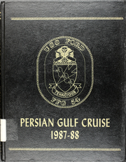 Ford (FFG 54) - Naval Cruise Book online yearbook collection, 1986 Edition, Cover