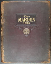 Fordham University - Aries / Maroon Yearbook (New York, NY) online yearbook collection, 1916 Edition, Cover