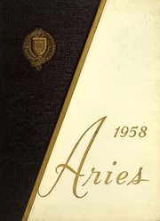 Fordham University School of Business - Aries Yearbook (New York, NY) online yearbook collection, 1958 Edition, Cover