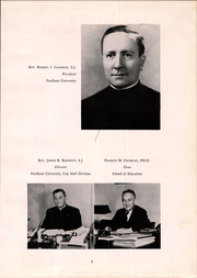 Page 11, 1948 Edition, Fordham University School of Education - Grail Yearbook (New York, NY) online yearbook collection