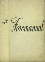 Foreman High School - Foremanual Yearbook (Chicago, IL) online yearbook collection, 1949 Edition, Cover