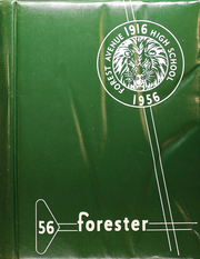 Forest Avenue High School - Forester Yearbook (Dallas, TX) online yearbook collection, 1956 Edition, Cover