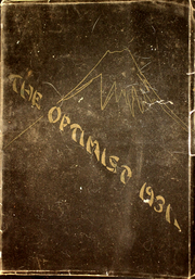 Forest Grove Union High School - Optimist Yearbook (Forest Grove, OR) online yearbook collection, 1931 Edition, Cover