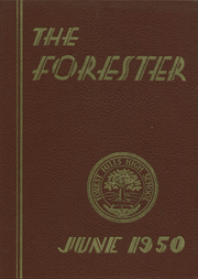 Forest Hills High School - Forester Yearbook (Forest Hills, NY) online yearbook collection, 1950 Edition, Cover
