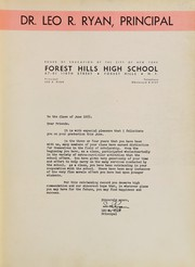 Page 7, 1955 Edition, Forest Hills High School - Forester Yearbook (Forest Hills, NY) online yearbook collection
