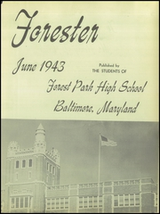 Page 7, 1943 Edition, Forest Park High School - Forester Yearbook (Baltimore, MD) online yearbook collection
