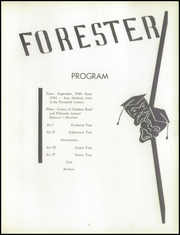 Page 7, 1954 Edition, Forest Park High School - Forester Yearbook (Baltimore, MD) online yearbook collection