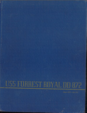 Forrest Royal (DD 872) - Naval Cruise Book online yearbook collection, 1951 Edition, Cover