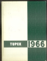 Forrest Strawn Wing High School - Tupek Yearbook (Forrest, IL) online yearbook collection, 1966 Edition, Cover