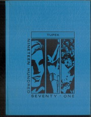 Forrest Strawn Wing High School - Tupek Yearbook (Forrest, IL) online yearbook collection, 1971 Edition, Cover