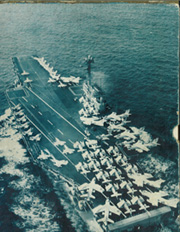 Forrestal (CVA 59) - Naval Cruise Book online yearbook collection, 1960 Edition, Cover