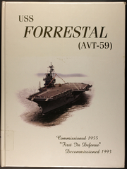 Forrestal (CVA 59) - Naval Cruise Book online yearbook collection, 1993 Edition, Cover