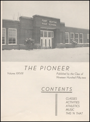 Page 7, 1952 Edition, Fort Benton High School - Pioneer Yearbook (Fort Benton, MT) online yearbook collection
