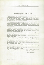 Page 16, 1928 Edition, Fort Branch High School - Key Yearbook (Fort Branch, IN) online yearbook collection