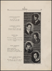 Page 15, 1929 Edition, Fort Branch High School - Key Yearbook (Fort Branch, IN) online yearbook collection