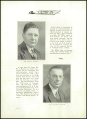 Page 12, 1936 Edition, Fort Collins High School - Lambkin Yearbook (Fort Collins, CO) online yearbook collection