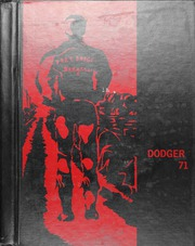 Fort Dodge High School - Dodger Yearbook (Fort Dodge, IA) online yearbook collection, 1971 Edition, Cover