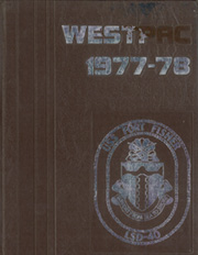 Fort Fisher (LSD 40) - Naval Cruise Book online yearbook collection, 1978 Edition, Cover