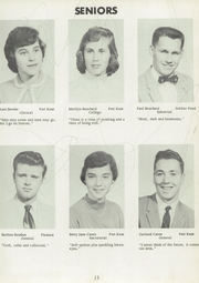 Page 17, 1958 Edition, Fort Kent Community High School - Warrior Yearbook (Fort Kent, ME) online yearbook collection