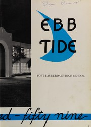 Page 7, 1959 Edition, Fort Lauderdale High School - Ebb Tide Yearbook (Fort Lauderdale, FL) online yearbook collection