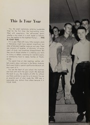 Page 8, 1959 Edition, Fort Lauderdale High School - Ebb Tide Yearbook (Fort Lauderdale, FL) online yearbook collection