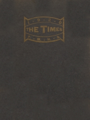 Fort Madison High School - Madisonian Yearbook (Fort Madison, IA) online yearbook collection, 1920 Edition, Cover