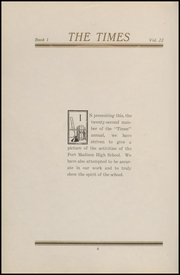 Page 10, 1920 Edition, Fort Madison High School - Madisonian Yearbook (Fort Madison, IA) online yearbook collection