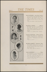 Page 16, 1920 Edition, Fort Madison High School - Madisonian Yearbook (Fort Madison, IA) online yearbook collection