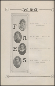 Page 16, 1921 Edition, Fort Madison High School - Madisonian Yearbook (Fort Madison, IA) online yearbook collection
