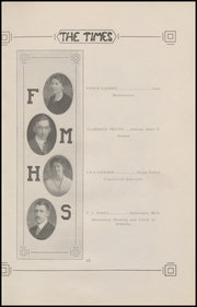 Page 17, 1921 Edition, Fort Madison High School - Madisonian Yearbook (Fort Madison, IA) online yearbook collection