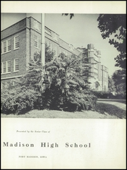 Page 7, 1950 Edition, Fort Madison High School - Madisonian Yearbook (Fort Madison, IA) online yearbook collection