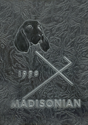 Fort Madison High School - Madisonian Yearbook (Fort Madison, IA) online yearbook collection, 1958 Edition, Cover