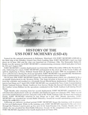 Fort McHenry (LSD 43) - Naval Cruise Book online yearbook collection, 1994 Edition, Page 9 of 112