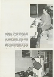 Page 6, 1986 Edition, Fort Meade High School - Fomehiso Yearbook (Fort Meade, FL) online yearbook collection
