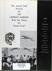 Page 8, 1957 Edition, Fort Scott High School - Yearbook (Fort Scott, KS) online yearbook collection