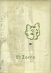 Fort Sumner High School - El Zorro Yearbook (Fort Sumner, NM) online yearbook collection, 1955 Edition, Cover