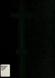 Fort Wayne Bible College - Light Tower Yearbook (Fort Wayne, IN) online yearbook collection, 1930 Edition, Cover