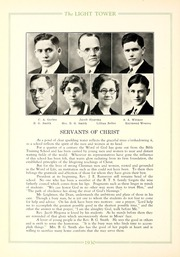 Page 16, 1930 Edition, Fort Wayne Bible College - Light Tower Yearbook (Fort Wayne, IN) online yearbook collection