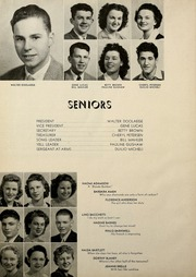 Page 12, 1944 Edition, Fortuna Union High School - Megaphone Yearbook (Fortuna, CA) online yearbook collection