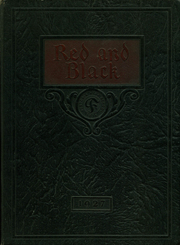 Fostoria High School - Red and Black Yearbook (Fostoria, OH) online yearbook collection, 1927 Edition, Cover