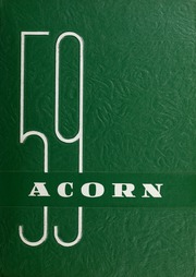 Four Oaks High School - Acorn Yearbook (Four Oaks, NC) online yearbook collection, 1959 Edition, Cover