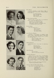 Framingham High School - Philomath Yearbook (Framingham, MA) online yearbook collection, 1949 Edition, Page 10