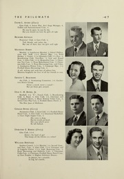 Framingham High School - Philomath Yearbook (Framingham, MA) online yearbook collection, 1949 Edition, Page 9