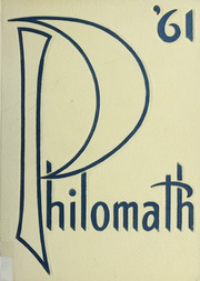 Framingham High School - Philomath Yearbook (Framingham, MA) online yearbook collection, 1961 Edition, Cover